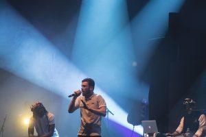 Meis en concert à La Roche-sur-Yon lors du festival Hip OPsession 2016.