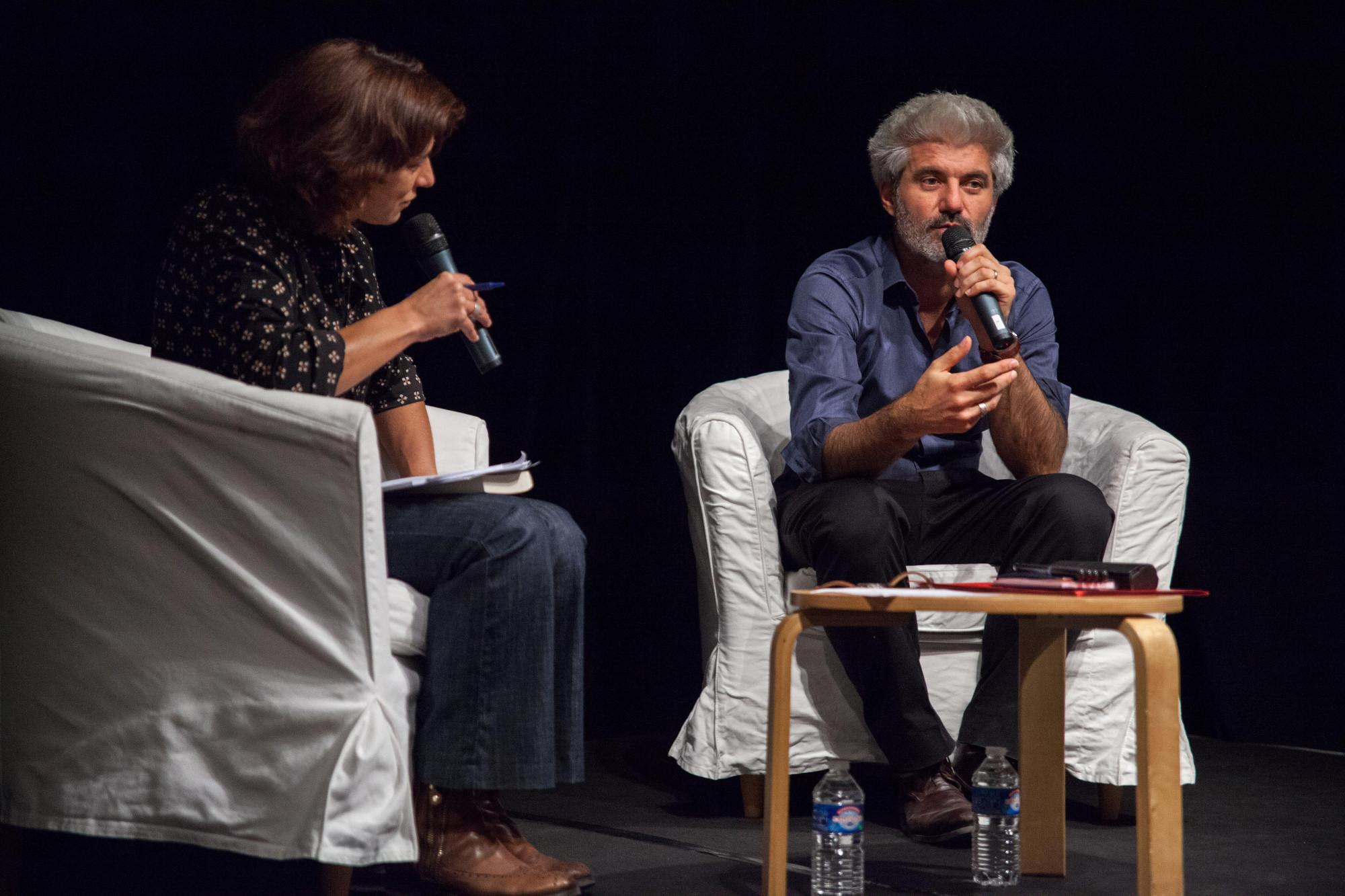 Laurent Gaudé, l'écrivain surdoué aux multiples prix prestigieux, est très attendu dans le cadre du festival