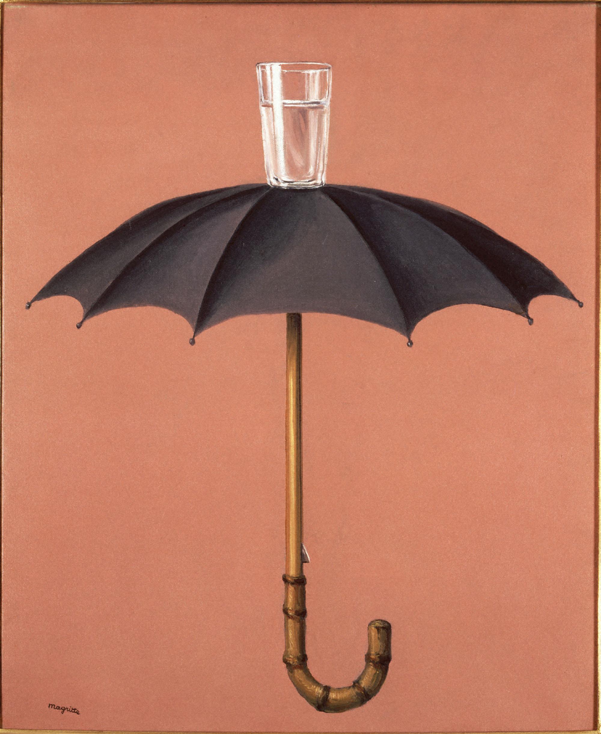 René Magritte, Les vacances de Hegel, 1958, © Photothèque R. Magritte / Banque d'Images, Adagp, Paris, 2016