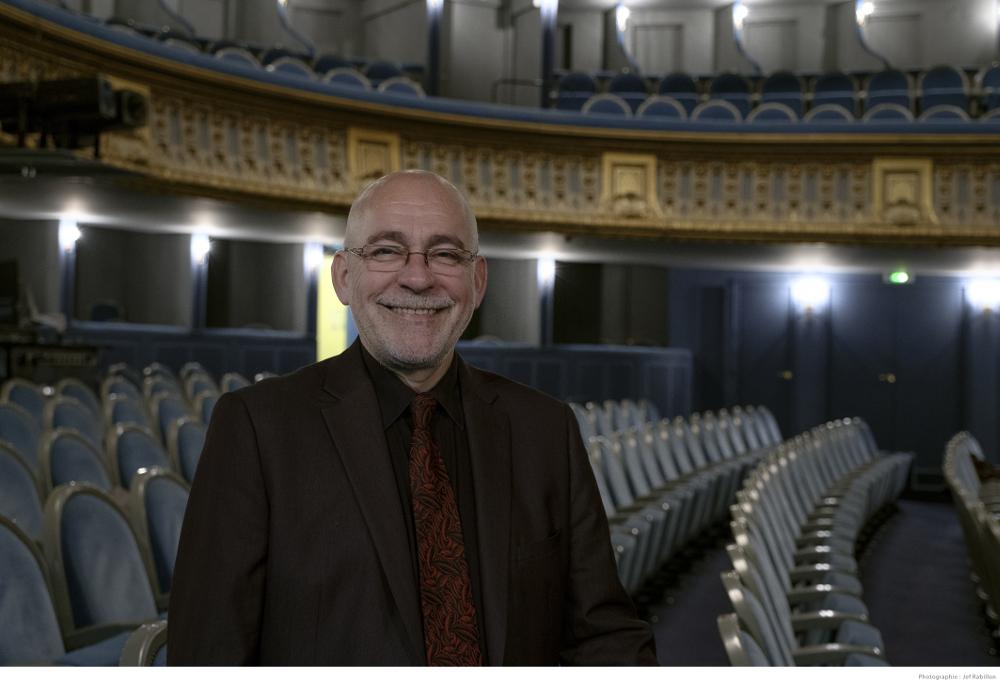 Alain Surrans dans son opéra